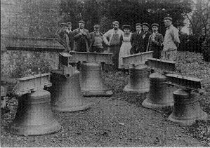 The bells delivered from Ipswich