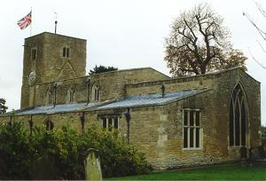 The church viewed from the churchyard